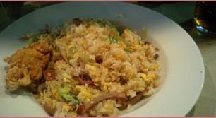 China Dining Liuのチャーハン定食