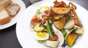 daylight kitchen organicの無農薬・自然栽培のサラダランチ