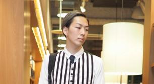 山根芳真(21歳 アパレル)