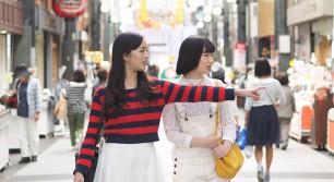 川端商店街〜櫛田神社