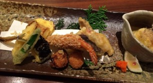 鮨と和の食 清吉で天ぷら御膳