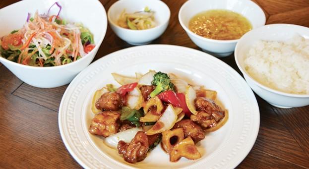 China Garden頤和園 天神店の頤和園的熱烈中華定食