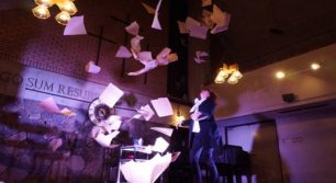 「MUSIC CITY TENJIN 2016」のSUPPORT LIVEにて『4時48分サイコシス』が上演!