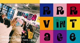 RRR VINTAGE POP UP SHOP in FUKUOKA