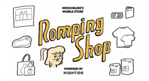 NONCHELEEE × HIGHTIDE 限定ショップ【Romping Shop】オープン!