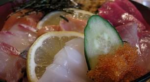 はなれんこんの海鮮丼定食
