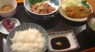 市場食堂 博多 魚がし「魚辰」の鯵づくしの定食