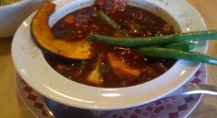 Zelligesの挽肉と数種野菜のカレー