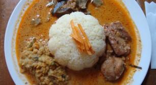 東方遊酒菜ヌワラエリヤのランチ