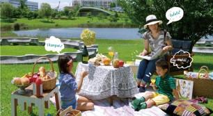緑溢れる公園で秋のピクニックイベント「おそとリビング」