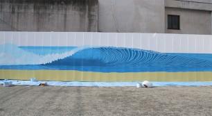 大名で巨大壁画を描くライブペインティングイベント開催!