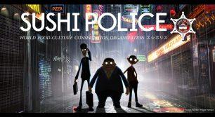 福岡発、ジャパニーズ・アンチヒーローアニメ『SUSHI POLICE』