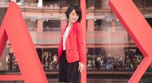 A|X アルマーニ エクスチェンジ 福岡店のオープン記念イベントに剛力彩芽さんが登場!