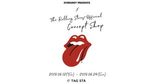 The Rolling Stones Official Concept Store@TAGSTA