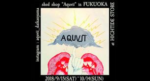 """代官山「Aquvii」の""""箱型店舗""""が、期間限定でHIGHTIDE STOREに出店!"""