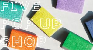 富山のブランド「FIVE」のPOP UP SHOPを開催!