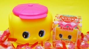 ピンク帽子の福岡限定フエキくん登場!
