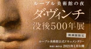 ルーブル美術館の夜 ダ・ヴィンチ 没後500年展