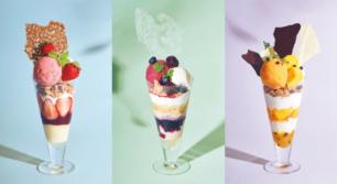 ビブリオテークから毎月新しい「夏パフェ」が登場!